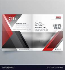 Cover Page Layouts Brochure Magazine Cover Page Template Layout In Vector Image