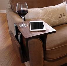 simply awesome sofa arm rest wrap tray table with side