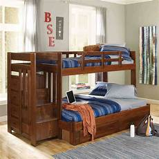 woodcrest heartland bunk bed with stairs