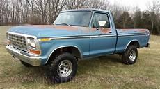 1979 Ford F150 4x4 Swb Short Bed Ranger Blue