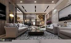 luxury living room interior design villa