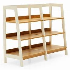 home ladder bookcase bookcase light oak