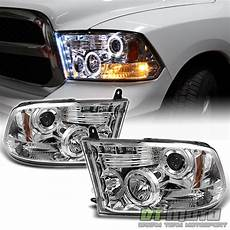 Aftermarket Headlights And Lights For Trucks 2009 2017 Dodge Ram Pickup Truck Led Halo Projector