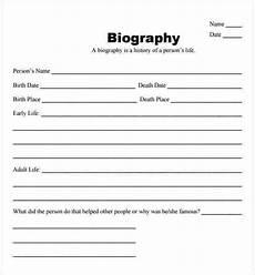 Short Bio Templates Free Bio Sheet Template Free Download Aashe