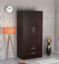 buy nariko 2 door wardrobe with 2 drawers in wenge finish
