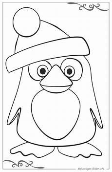 pinguine kostenlose malvorlage ausmalen