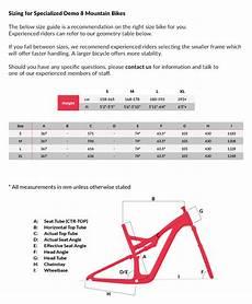 Specialized Crosstrail Bike Size Chart Specialized S Works Demo 8 Disc Downhill Mountain Bike