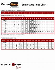 Casual Corner Size Chart Cornerstone Apparel Size Chart And Fit Guide