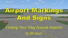 Mandatory Airport Instruction Signs Are Designated By Airport Marking And Signs By Topskills Youtube