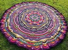 crochet mandala madness free pattern the spinners husband