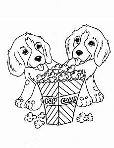 Ausmalbilder Tiere Hunde For Children Two Dogs Dogs Coloring Pages
