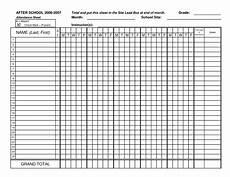 Attendance Sheet Template Pdf School Attendance Sheet Documents And Pdfs