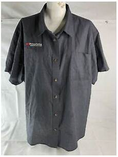 Firestone Mechanic Lot Of 4 Mens Cintas Gray Firestone Mechanic Uniform Short