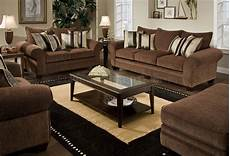 chocolate fabric casual modern loveseat sofa set w options