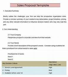 Proposal Sales Free 20 Sample Sales Proposal Templates In Illustrator