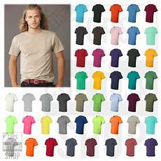 Jerzees Color Chart Jerzees Dri Power Active 50 50 Mens T Shirt Plain Basic