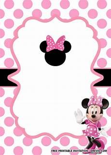 Minnie Mouse Invitation Template Free Minnie Mouse Head Invitation Template Business Template
