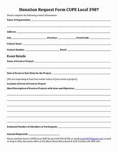 Donation Form Template 43 Free Donation Request Letters Amp Forms Template Lab