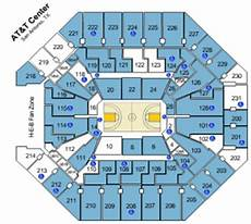 Spurs Seating Chart At T Seating Chart San Antonio Spurs Brokeasshome Com