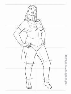 Body Templates For Designing Clothes Tracing Real Body Models An Alternative To The
