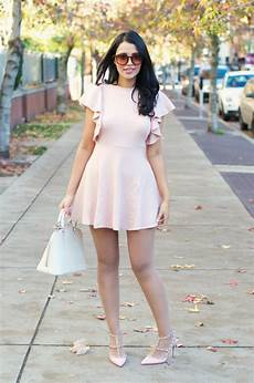 What Color Heels With Light Pink Dress Gumboot Glam Blogger Dress Pastel Dress Pink Dress