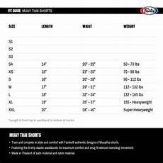 Muay Thai Shin Guards Size Chart Muay Thai Shorts Size Guide Fairtex Muay Thai Shop Singapore