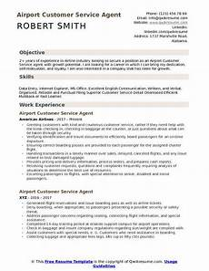 Airline Customer Service Agent Resume Airline Ticket Agent Job Description United Airlines And