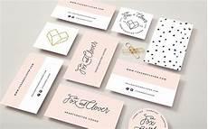 Trendy Business Cards Trendy Feminine Business Card Design Creative Business