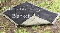 waterproof bed blanket how to make a bushcraft