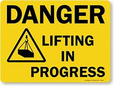Training In Progress Sign Lifting In Progress Sign Sku S 9294