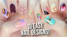 Easy Step By Step Toenail Designs 10 Easy Nail Art Designs For Beginners The Ultimate Guide