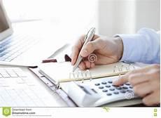 Calculating Expenses Calculating Expenses Stock Photo Image Of Banking