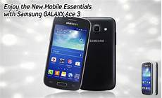 samsung mobile ace 3 enjoy the new mobile essentials with samsung galaxy ace 3