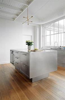 metal island kitchen sizzling stainless steel kitchen brings home professional