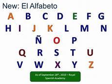 Alphabet In Spanish New Spanish Alphabet Youtube