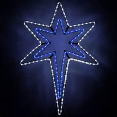 Led Lighted Star Of Bethlehem Snowflakes Amp Stars Led Bethlehem Star With A Blue Center