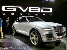 2020 hyundai genesis suv genesis gv80 concept suv will lose the hydrogen but keep