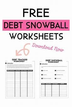 Snowball Worksheet Free Debt Snowball Worksheet Crush Your Debt Faster