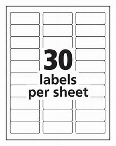 Avery 30 Per Page Labels Label Template 30 Per Page Printable Label Templates
