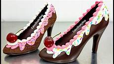 Chocolate Design Heels How To Make A Chocolate High Heel Shoe Tempered