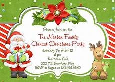 Free Evites For Holiday Party Blank Holiday Invitation Cards
