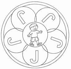 www kinder malvorlagen buchstaben mandala ausmalbild mandalas mandala buchstabe j zum ausmalen