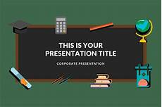 Free Teacher Powerpoint Templates Blackboard Free Powerpoint Template