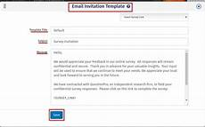 Survey Email Template Creating Survey Invitation Email Surveyanalytics Online
