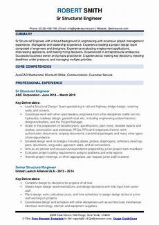 structural engineer resume sample senior structural engineer resume samples qwikresume