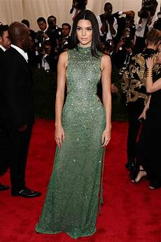kendall jenner s met gala 2015 carpet dress