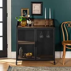walker edison furniture company 33 in rustic oak