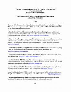 Bibliography Websites Example Of An Annotated Bibliography For Websit
