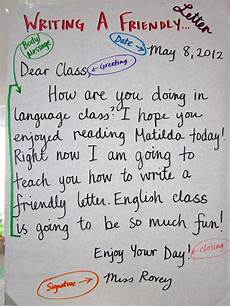Example Of Friendly Letter Friendly Letter Writing Google Search Lettering