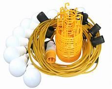 Festoon Lighting Kit 240v 22mtr 110v 8w Led Festoon Kit Brighton Tools And Fixings
